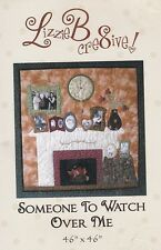 "Lizzie B cre8ive : ""SOMEONE TO WATCH OVER ME"" Wall Quilt LB149 Pattern Packet"