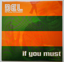 """12"""" US**DEL THE FUNKY HOMOSAPIEN - IF YOU MUST (HIERO IMPERIUM '00)***18254"""