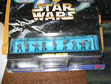 STAR WARS MICRO MACHINES IMPERIAL OFFICERS SET 1996