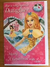 Gem Fairies Daughter Christmas New Year Greeting LARGE Card *NEW* (C202)