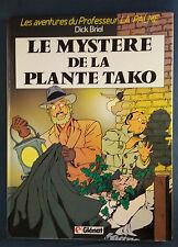 Professeur La Palme 1 EO Le Mystère de la plante Tako Dick Briel Glénat