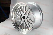 "19"" SILVER W/ GOLD LM STYLE RIMS WHEELS FITS LEXUS GS300 GS400 GS430 IS300 IS250"
