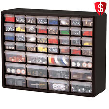 Tool Organizer Box Cabinet Drawer Hardware Craft Screws Bolts Nuts Storage