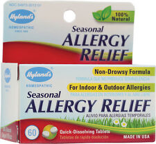 Seasonal Allergy Relief, Hyland's Homeopathic, 60 tablets