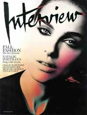 Interview Magazine September 2009 NATALIE PORTMAN MICHAEL JACKSON DIANE KRUGER