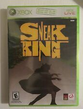 NEW! XBox Live Sneak King For Use only with Original XBox and XBox 360 Game