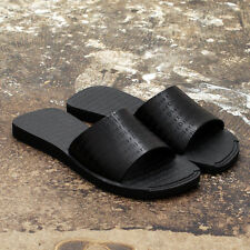NEW Dior Homme Black Leather Sandals - Size 39 GENUINE RPP: £199 BNIB