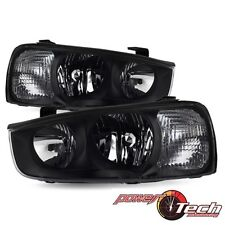 Headlights Headlamps Pair Set Left LH & Right RH for 01-03 Hyundai Elantra