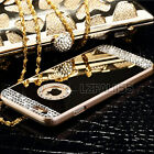 Luxury Mirror Bling Crystal Hard Back Case Cover For Apple iPhone&Samsung Galaxy