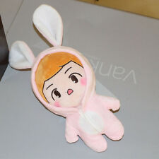 KPOP EXO FANMADE SUHO Call Me Baby Bunny Fansite Doll Plush Clothes Coat 20cm