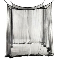 4-Corner Bed Netting Canopy Mosquito Net for Queen ED