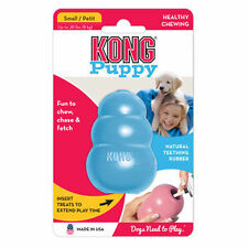 KONG PUPPY KONG Durable Rubber Chew and Treat Toy Fun For Dogs SMALL (KP3)