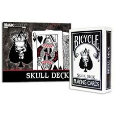 Bicycle Skull Deck - Skull Deck Regulation Playing Cards in Bicycle Card Stock!