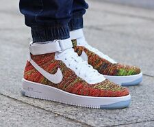 NIKE AIR FORCE 1 ULTRA FLYKNIT MID UK SIZE 6 EUR 40 MENS SHOES TRAINERS RARE