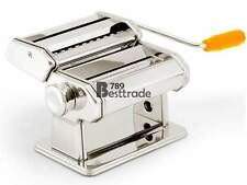 "7"" Pasta Maker Roller Machine Dough Making Fresh Noodle Maker Stainless Steel"
