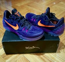 Nike Zoom Kobe Bryant Venomenon 5 Black Mamba Collectible Sneakers Purple Size 9
