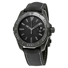 TAG Heuer Mens Aquaracer 300M Calibre 5 Black Phantom Watch WAY218B.FC6364