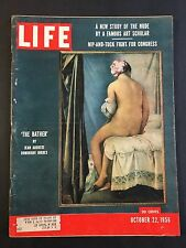 Life Magazine October 22 1956  The Bather by Jean Auguste Dominique Ingres