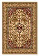 PERSIAN Design HIGH QUALITY BEIGE RED Medallion Wool Rug Large 160X225cm -50%OFF