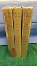 The Lord of the Rings J.R.R Tolkien Readers Union 1960 & unclipped Dust Jackets