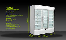 IGLOO NEW  1515L  COMMERCIAL UPRIGHT 3 TRIPLE DOORS GLASS DISPLAY   FRIDGE