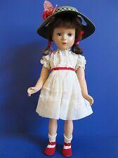 """Vintage Madame Alexander """"Margaret O'Brien"""" 1946 Composition Doll 18"""" ALL ORIG!"""