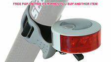 MTB ANY BIKE QUALITY REAR LIGHT AREO R15 4 LED REAR LIGHT SILVER/WHITE SALE 50%