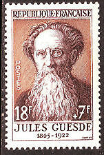 FRANCE TIMBRE NEUF N° 1113 ** JULES GUESDE