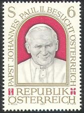 Austria 1983 Pope John Paul II/Visit/Popes/Papal/Religion/People 1v (n23130)