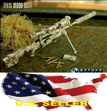 1/6 TAC-50 Desert Camo Sniper MK15 Rifle soldier Weapon for BBI hot toys phicen