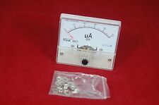 DC 50uA Analog Ammeter Panel AMP Current Meter 85C1 0-50uA DC directly Connect