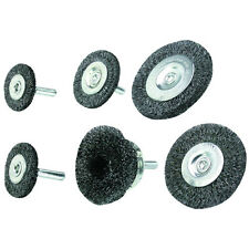 "NEW 6 pc. Wire Wheels & Cup Brush Set 1/4"" Shank"