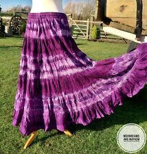 BEAUTIFUL NEW LONG PURPLE SKIRT UK SIZE 10 12 14 HIPPIE PAGAN DRESS BOHO GYPSY