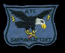 US Army 340th Aviation SPT ATC Detachment Vietnam Combat Patch A-2