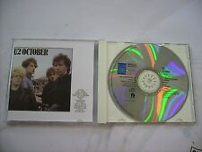 U2 - OCTOBER - CD MADE IN FRANCE EXCELLENT CONDITION 1996