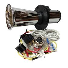 Chrome Classic OOGA Horn Car Van Truck w/ Horn Installation Kit and Button New