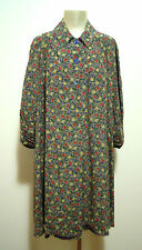 LAURA BIAGIOTTI Abito Vestito Donna Seta Woman Silk Dress Sz.XL - 48