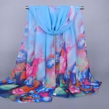 Fashion Women Long Soft Wrap scarf Ladies Shawl Chiffon Scarf Scarves ~