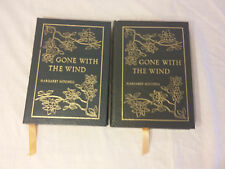 Gone with the Wind Margaret Mitchell Leather Bound Vol 1 & Vol 2 Easton Press
