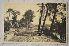 """CPA """" HOSSEGOR - Chemin de sable réservé pour la promenade autour du Lac"""