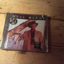 Neal Mccoy : 24 7 365 CD (2000) New And Sealed