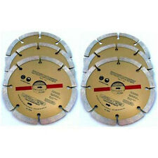 """6 x 115MM 4 1/2"""" DIAMOND ANGLE GRINDER BLADES DISCS for CUTTING"""
