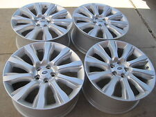 """21"""" BRAND NEW 2013 OEM MADE IN GERMANY RANGE ROVER SUPERCHARGED WHEELS ONLY."""