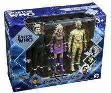 "DOCTOR WHO - 'The Claws of Axos' 6"" Action Figure Collector Set #NEW"