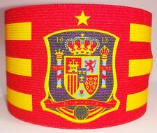 Spain Captain Armband Fascia Capitano Brazalete Barcelona Atletico Real Madrid