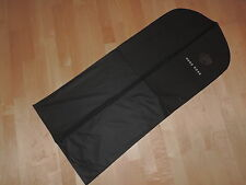 Hugo Boss Designer Black Suit Coat Protector Cover Bag Waterproof Travel Luggage