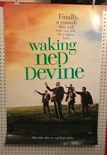 Original Movie Poster Waking Ned Devine Double Sided 27x40