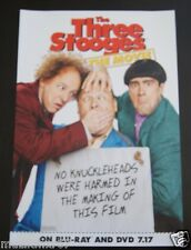 SDCC Comic Con 2012 Handout THE THREE STOOGES movie promo poster
