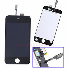 Black Front LCD Touch Screen Digitizer Assembly For iPod Touch 4 4th Gen + Tool