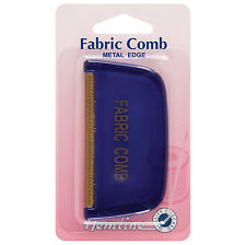 Fabric Metal Comb Removes Fuzz Sweater Wool Acrylic Blanket Coats Brushes Care